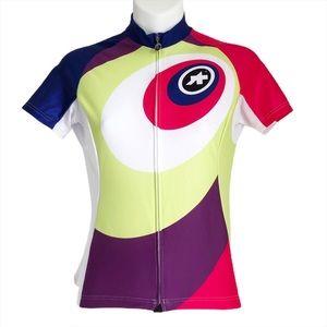 Assos Cycling Jersey Switzerland Swiss Biking Top